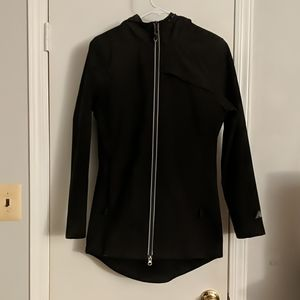 Like new hooded soft shell jacket